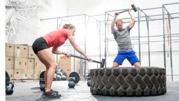 szkolenie cross training, na siłowni