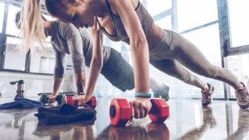 szkolenie trening funkcjonalny, trenujące kobiety