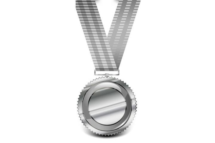 srebrny medal, Instruktor fitness pakiet PRO Silver, Trener personalny pakiet PRO Silver
